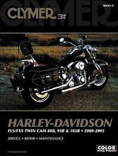 Clymer Service Manual Maintenance Repair Book Harley M423 FLX FXS Softtail