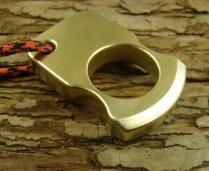 Solid-Brass-Survival-Escape-Tool-outdoor-EDC-Key-pendant-with-Handmade-lanyard