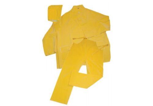 Ironwear PVC//Polyester 3pc Rain suit w// Detachable Hood 4XL,Free Ship 9202-NF