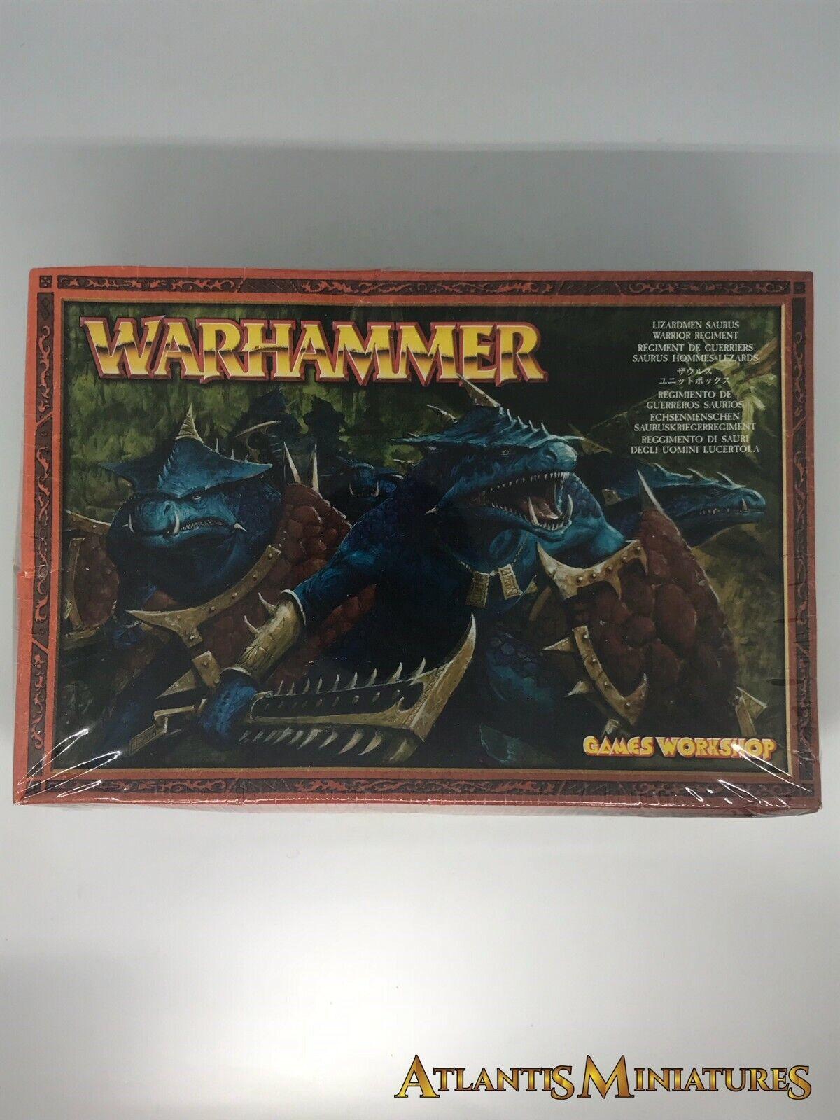 Lizardmen Saurus Regiment Boxed - OOP - Warhammer Age of Sigmar CC153