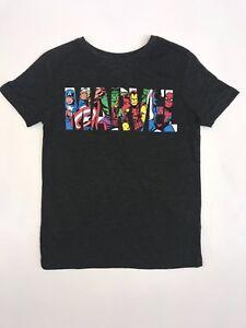 Official Marvel Avengers Boys Dark Grey T-shirt Children/'s Kids 8 9 10 11 12 13