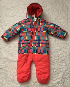 e490bf82f ROXY GIRL'S ZIP UP WATERPROOF SNOWSUIT / GIRL'S TODDLER SIZE 12M ...