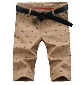 26915a4f14b 2019 New Fashion Printing Casual Pants Men s Summer Simple Korean ...