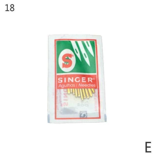 5 Packs Regular point Flat Shank #2020 Singer Home needle size #9,11,14,16,18