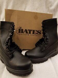 05778d0974d Details about Bates Men's Navy 9 in. DuraShocks Steel Toe Combat Boots  (E01621)