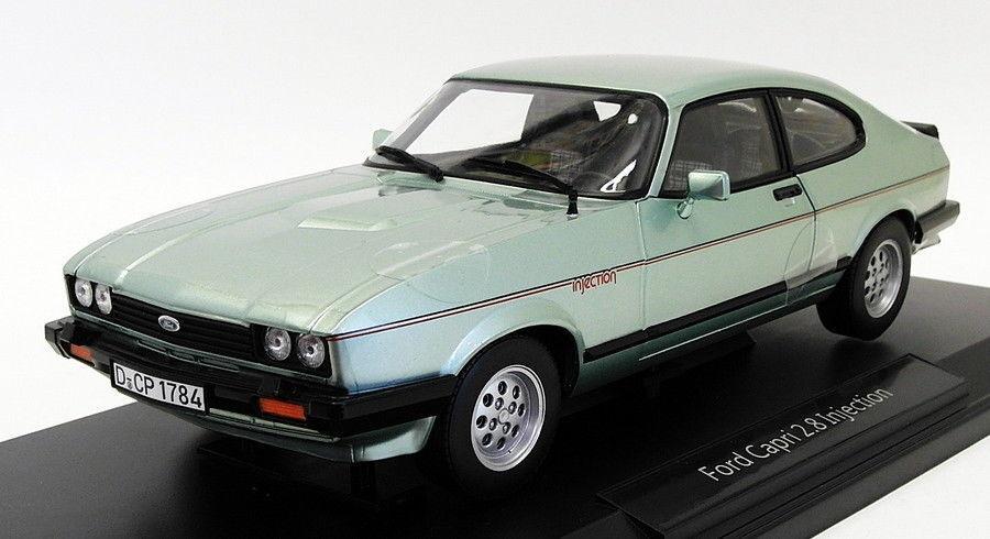 NOREV échelle 1 18 182719 - 1982 Ford Capri 2.8 injection-Metallic LGT Vert