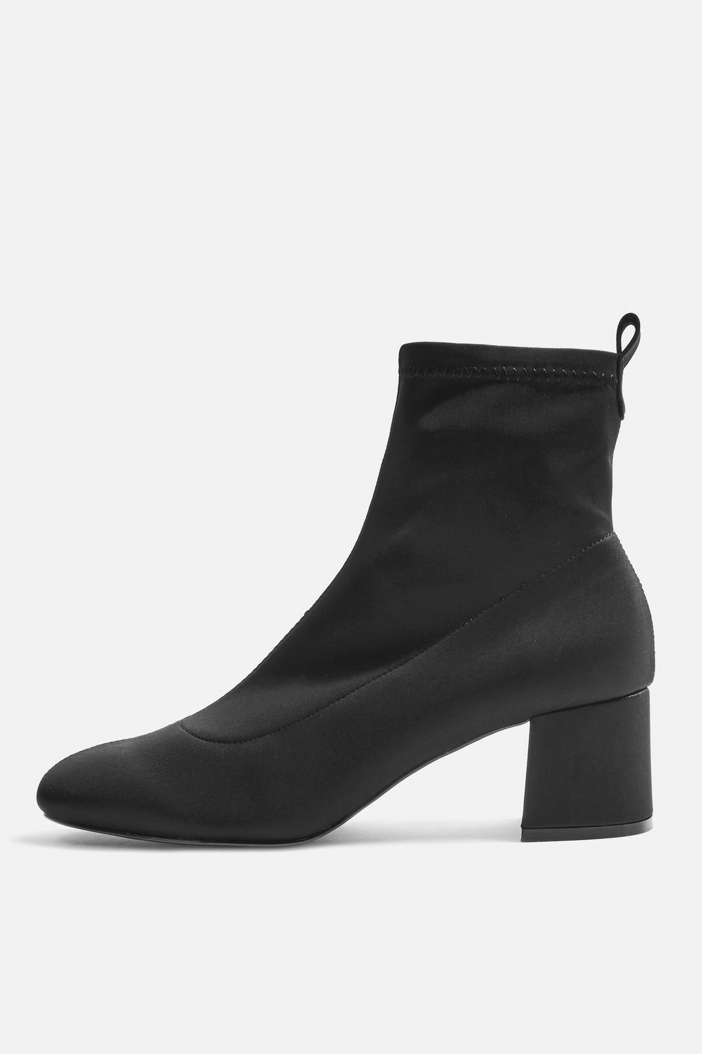 New TOPSHOP 'buttercup' black ankle ankle ankle sock boots uk 3 eu 36 us 5.5 e31a6f