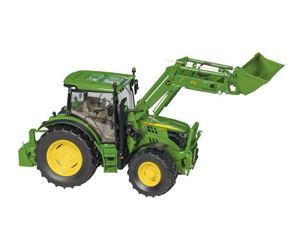 Wiking John Deere Deere Deere Tracteur 6215R avec chargeur 1:32 diecast farm Replica 14 ans | Sale  b6a8d9