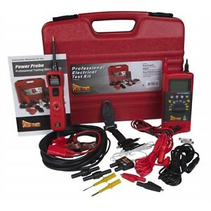 Power Probe Professional Testing Electrical Kit PPROKIT01 Brand New!