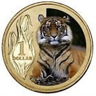 AUSTRALIA: 2012 $1 Sumatran Tiger PNC Zoo Series Uncirculated colour $1