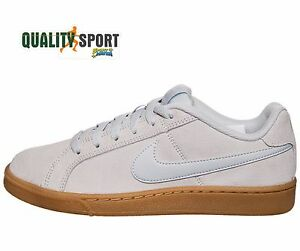 info for 8d43e dfc7b Image is loading Nike-Court-Royale-Suede-Grigio-Donna-Scarpe-Sportive-