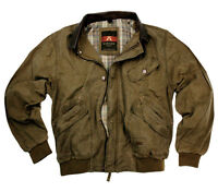 Men's Leisure Bomber Jacket, Bomber From Oiled Canvas Kakadu Traders