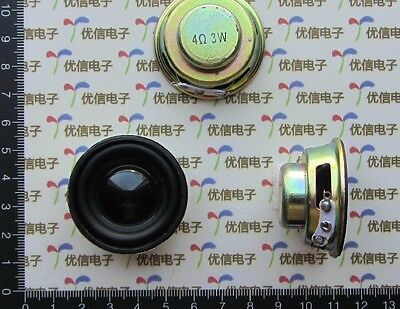 DZ383 High quality mini speaker 3w 4r 4Ω mini amplifier rubber gasket #