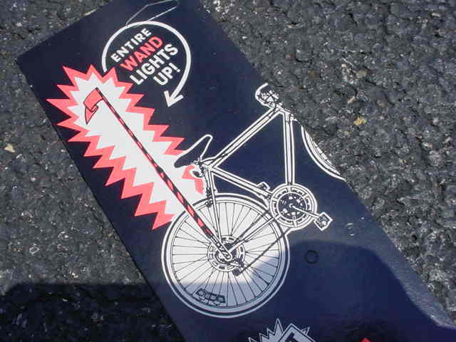 BICYCLE FLAG POOL  LIGHT SAFTY WAND VINTAGE KOOL FIT SCHWINN HUFFY OTHERS NOS  new exclusive high-end