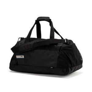 a6975ad5b116 PUMA Mens Vibe Sports Bag Holdall Zip Mesh Training Sport