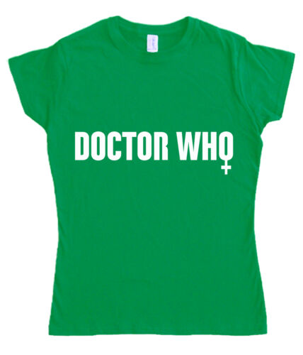 DOCTOR WHO T-shirt S 5XL FEMALE GENDER SYMBOL jodie whittaker dr lady whovian