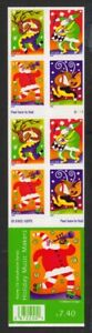 2003-Christmas-Music-Sc-3824b-mint-booklet-plate-no-S1111-CV-20