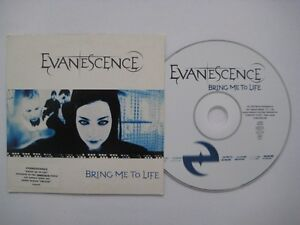 EVANESCENCE-Bring-me-to-life-2-track-CD-Single-Card-sleeve