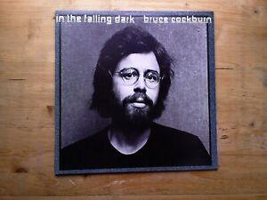 Bruce-Cockburn-In-The-Falling-Dark-Near-Mint-Vinyl-Record-L36267-amp-Insert-G-F
