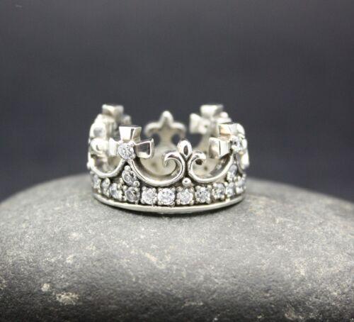Sterling Silver Queen Mary Couronne Bague Avec Zircon Cubique livraison gratuite!!!