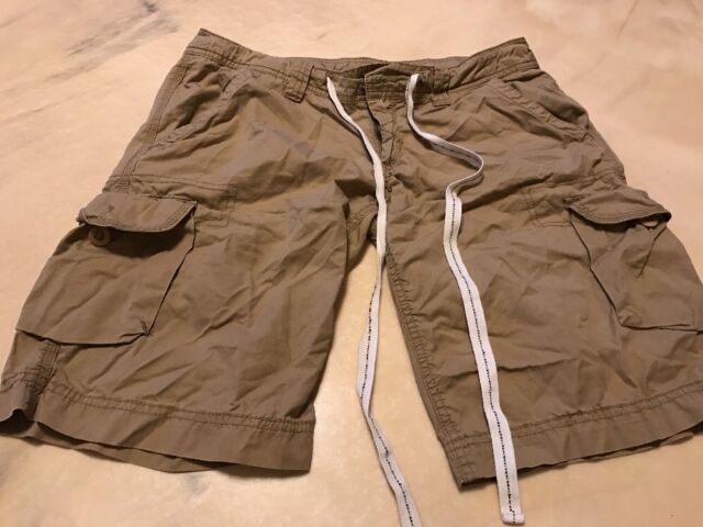 0877078b06 Be bop size tan cotton spandex shorts ebay jpg 640x480 Foxy shorts