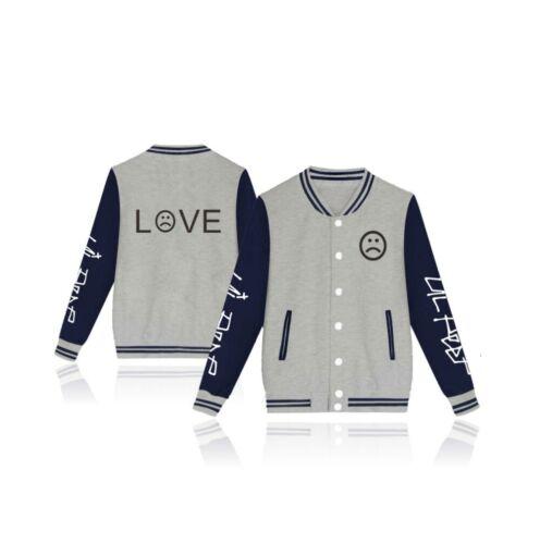 Rapper Sad-Face Unisex Sweatshirt Pullover Lil Peep New Hip-Hop Jacket Hoodie