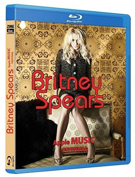 Britney Spears Apple Music Festival Concert Ntsc Hd Blu Ray Ebay