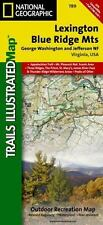 National Geographic Trails Illustrated Map: Lexington, Blue Ridge Mts - George Washington and Jefferson Nf, Virginia, USA Outdoor Recreation Map 789 by National Geographic Maps Staff (2007, Map, Other)