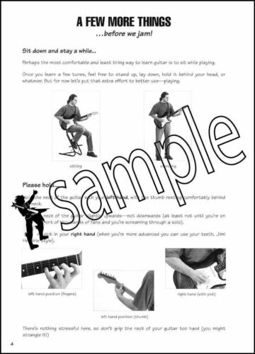 FastTrack Guitar 1 Music Book with Audio Learn To Play Method Electric Acoustic