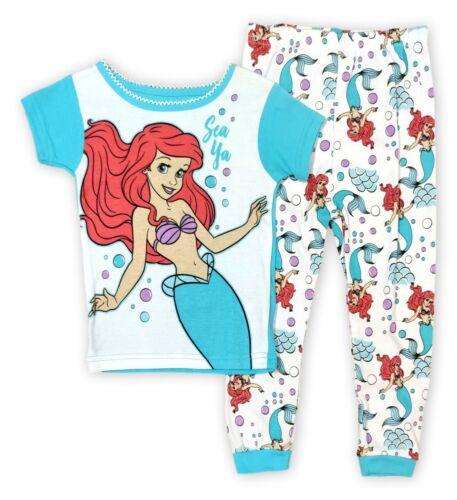 Disney The Little Mermaid Pajamas for Toddler Girls 2-Piece Ariel Shirt Pant 5T