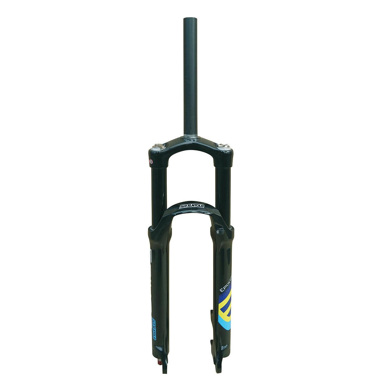 SR SUNTOUR Epixon LO-R MTB Suspension Fork TK 26  1-1 8  Travel 120mm Bright BK