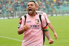 POSTER FABRIZIO MICCOLI PALERMO SALENTO CHE ILICIC SOCCER FOOTBALL CALCIO FOTO 1