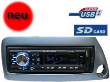 USB MP3 RDS Autoradio Radio Ford KA Street Set 4 x 50 Watt Blende blau