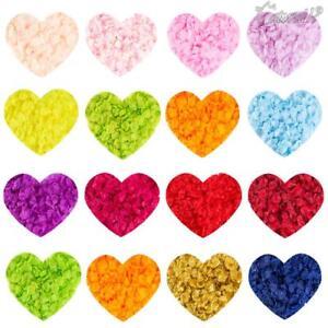 1000x-Petales-De-Rose-En-Soie-Tissu-Confettis-Faux-Fleur-Artificielle-Mariage