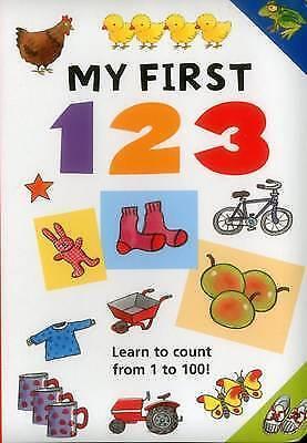 (good)-my First 123 (board Book)-jan Lewis-1861474253 Buenos CompañEros Para NiñOs Y Adultos
