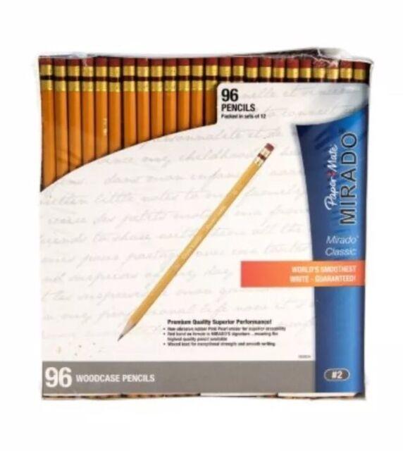 Ticonderoga Woodcase Pencil HB #2 Yellow Barrel 96ct.