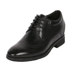 "Short Men Dress Shoes To Make Height 3"" Taller, CYD21"