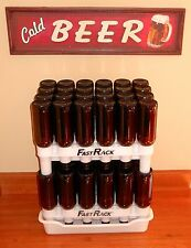 FASTRACK KIT BEER BOTTLE DRYING RACK WITH 2 FAST RACK & DRIP TRAY (NO BOTTLES)