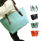 Women Lady Vintage Big Purse Bag Tote Fashion Handbag Shoulder PU Leather AU