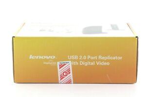 Lenovo-USB-2-0-Port-Replicator-with-Digital-Video-Docking-Station-0A33942-IB