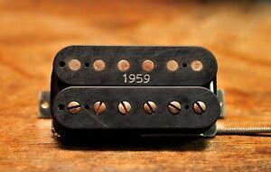 Arcane Inc. Triple Clone WarTorn Uncovered 1959 Black Standard Spaced Humbucker