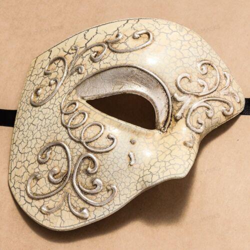 Mardi Gras Half Face Party Venetian Mask Man Masquerade Mask Phantom of Opera
