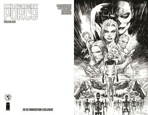 CYBERFORCE-1-VIRGIN-CONVENTION-EXCLUSIVE-NM-MARC-SILVESTRI-IMAGE-TOP-COW-COMICS
