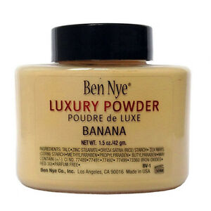 Free-Shipping-Ben-Nye-Luxury-Banana-Powder-1-5-oz-Bottle-Face-Makeup-Tool-Gift