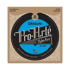 3 Pack! D'addario Ej46 Pro Arte Nylon Core Classical Guitar Strings free Us Ship Pour AméLiorer La Circulation Sanguine