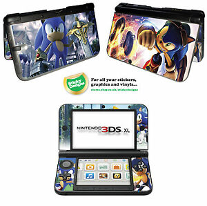 Details about Sonic the Hedgehog Vinyl Skin Sticker for Nintendo 3DS XL