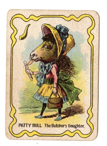 1897 PATTY BULLTHE BUTCHER'S DAUGHTERDR BUSBY'S GAME CARD