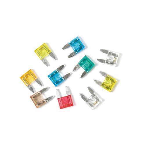mix 10 micro-fusibili lamellari con spia a led 12//24V Smart Led