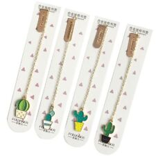 1PC Cute Cactus Bookmarks For Books Paper Page Marker Stationery School Supplies