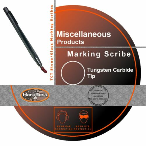 Glass Marking Scribe TCT Tungsten Tipped Stone